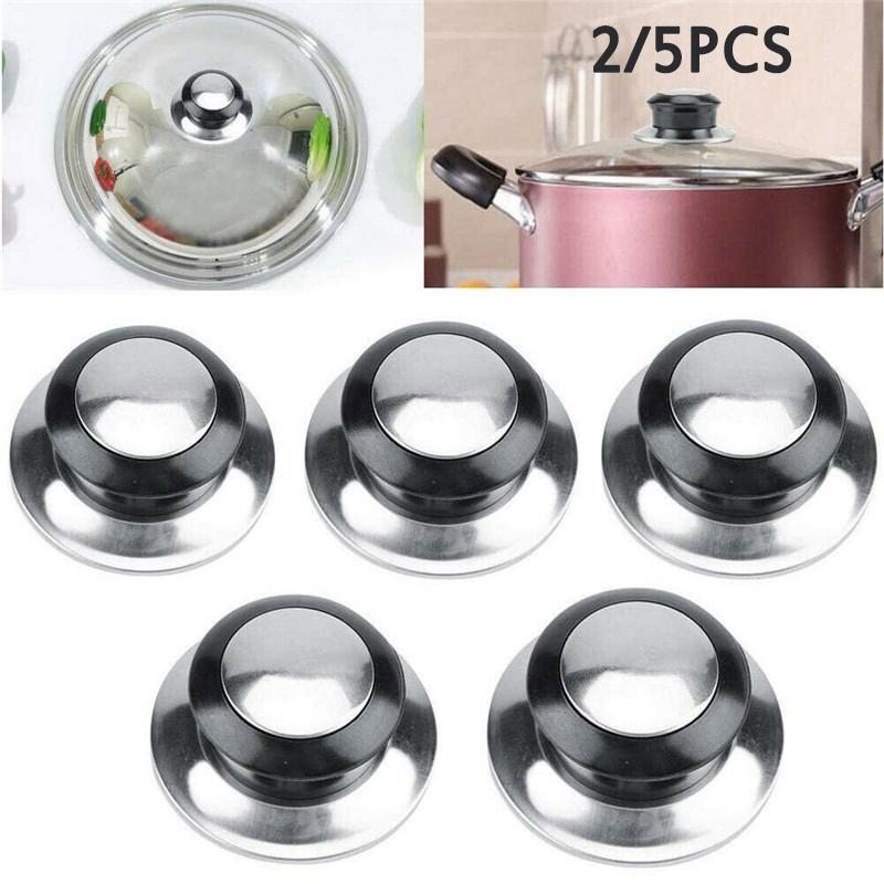 Replacement Kitchen Cookware Pot Saucepan Pan Lid Hand Grip Knob Handle New