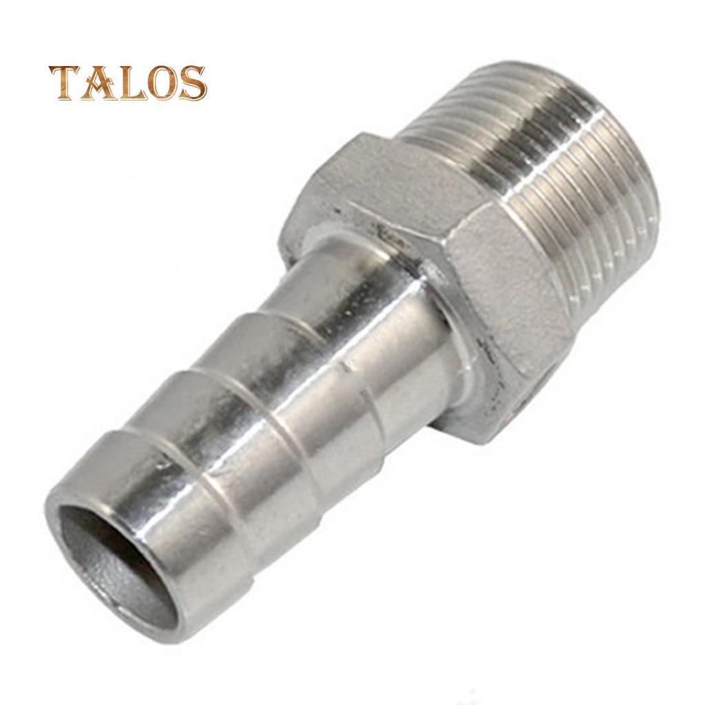 conector de la manguera de la cola de la lengüeta BSP de acero inoxidable durable Rosca macho tubo montaje