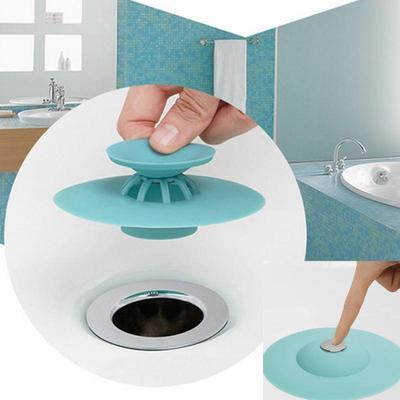 Rubber Drain Plug Sink Bathtub Stopper Kitchen Washroom Bathroom Basin Cover$-$