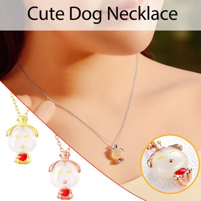 SADUORHAPPY Simple Unisex Lovers Cute Baby Elephant Finger Necklace Jewelry Gifts