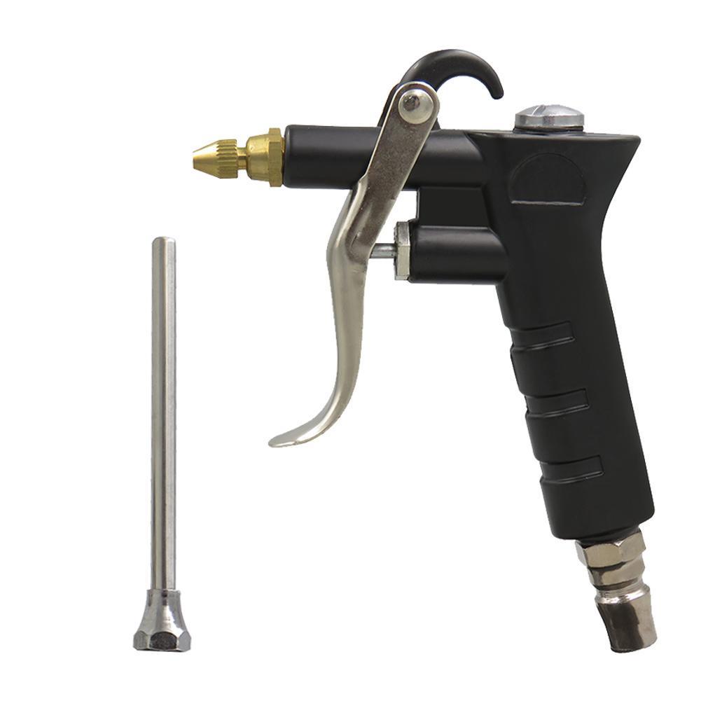 Air Blow Gun Pistol Trigger Cleaner Compressor Dust Blower 8inch Nozzle #Z