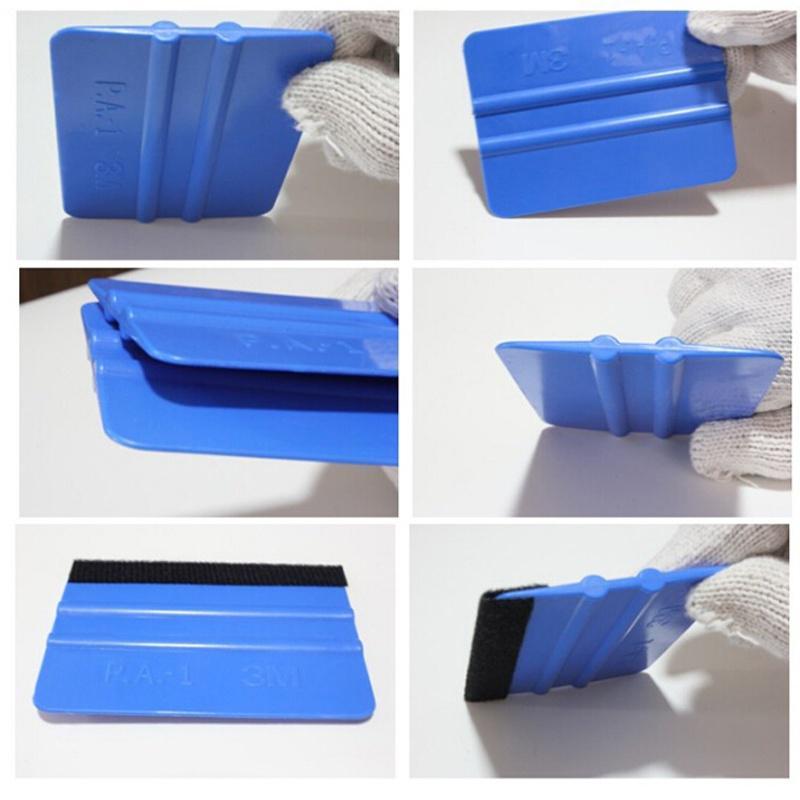 Squeegee Applicator Tools Fabric Felt Edge Decal Vinyl Wrapping Scraper Kits