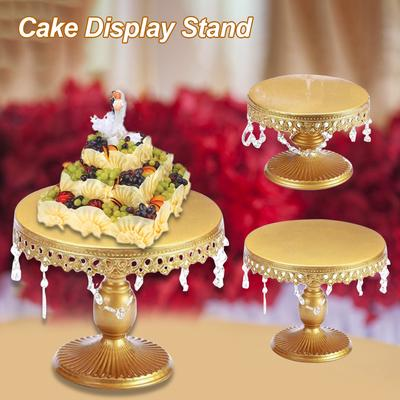 Dolls House Cakestand 3-storeyed Cake Stand 1:12 for Doll House Deco YK V8N C0X0