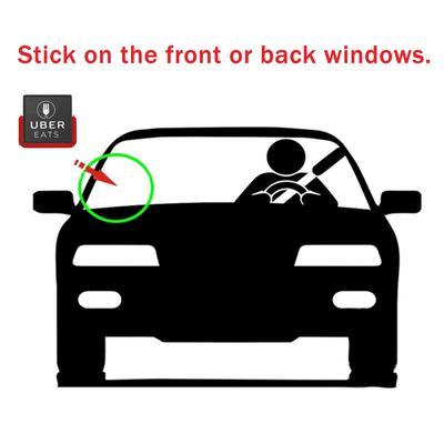 Rechargeable Light UBEREATS Sign UBER EATS DriverRideshare Car Cab Inside Logo