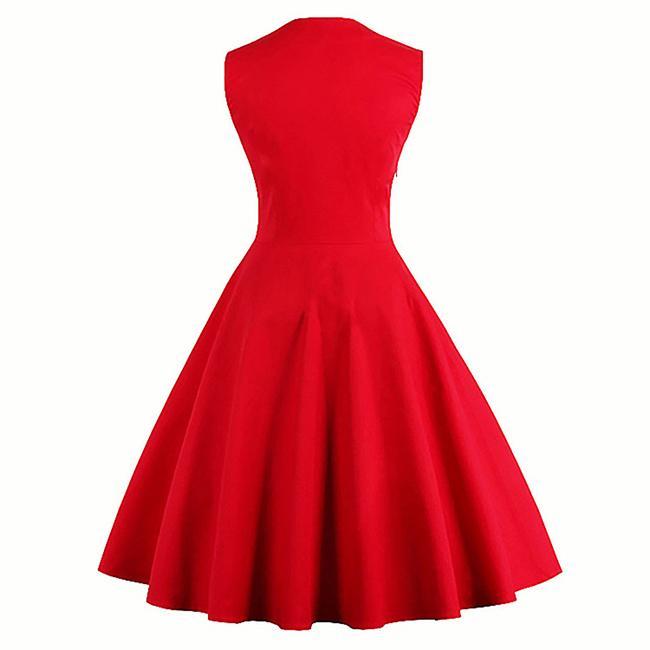 Vestido Retrô Vintage Bolinhas Rodado Festa Anos 50 Anos 60