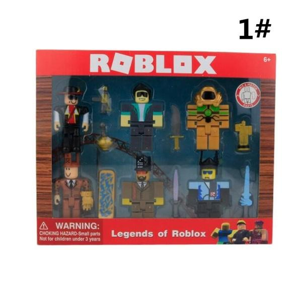 Legends of Roblox Game Action Figure Collection Model Doll Kids Toy Gift 6 PCS