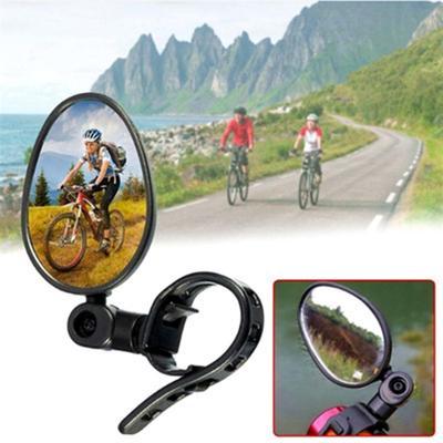 Mirror Rear View Cycling Bicycle Bike Adjustable 360 Degree Rotatable Handlebar