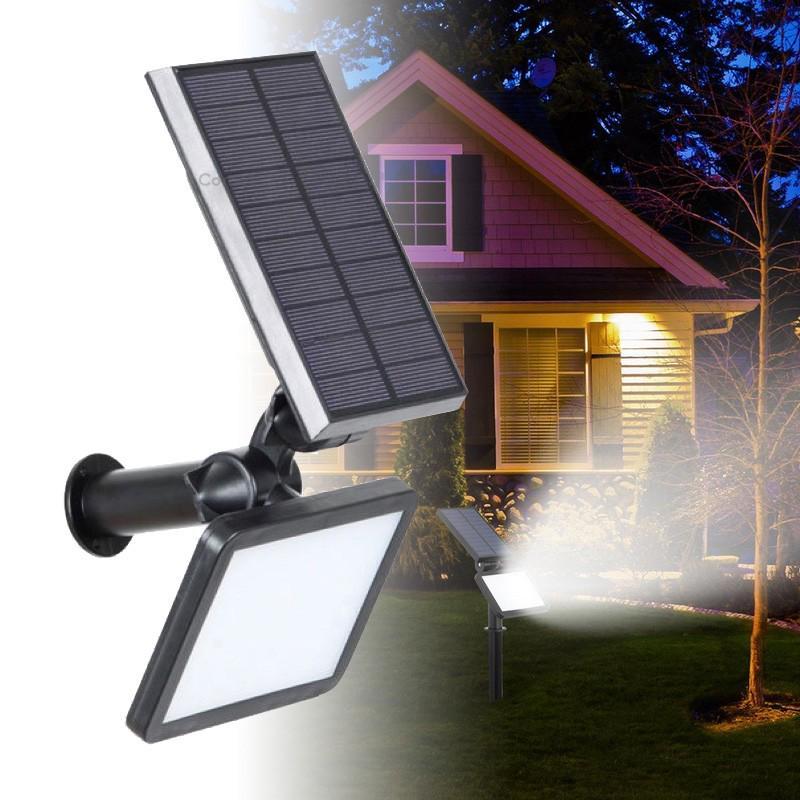 Outdoor 36LED Solar Power Garden Lamp Spotlight Lawn Landscape Waterproof Light