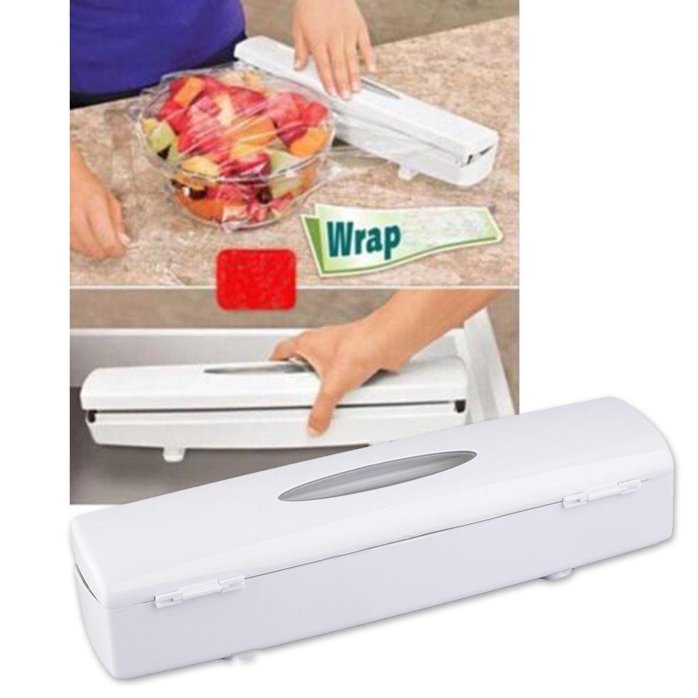 Kunststoff-Lebensmittel Cling Wrap Folie Dispenser Cutter ...