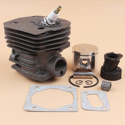 44mm Cylinder Piston Head Intake Manifold Boot Gasket Engine Kit Fit  HUSQVARNA 350 346 351 353