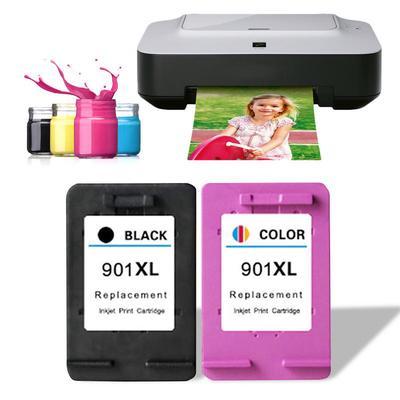 HP 901 Ink Cartridge for 4500 J4580 4640 J4680 4660 Printer