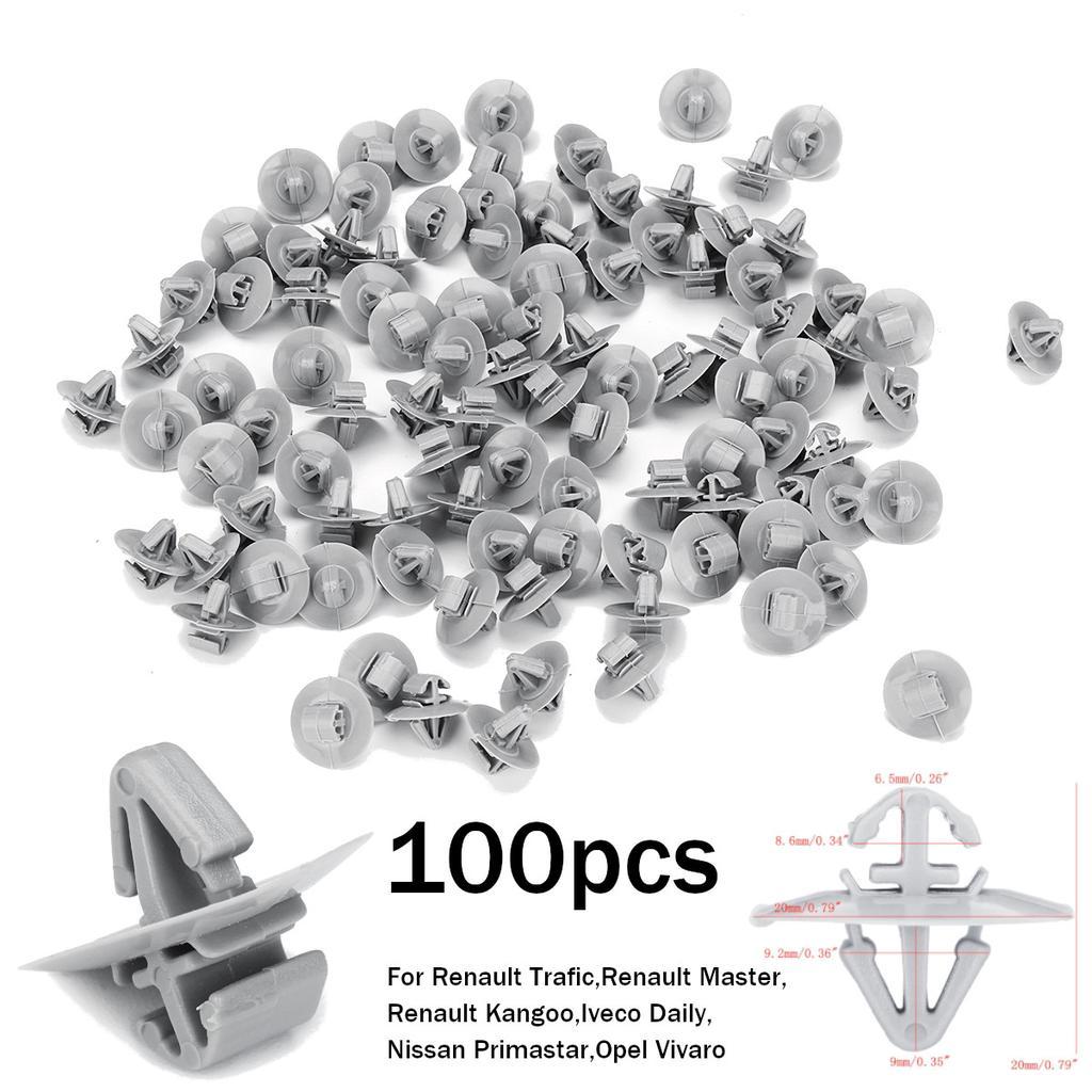 10 X For RENAULT Master Trafic Espace door bumper trim moulding panel clips