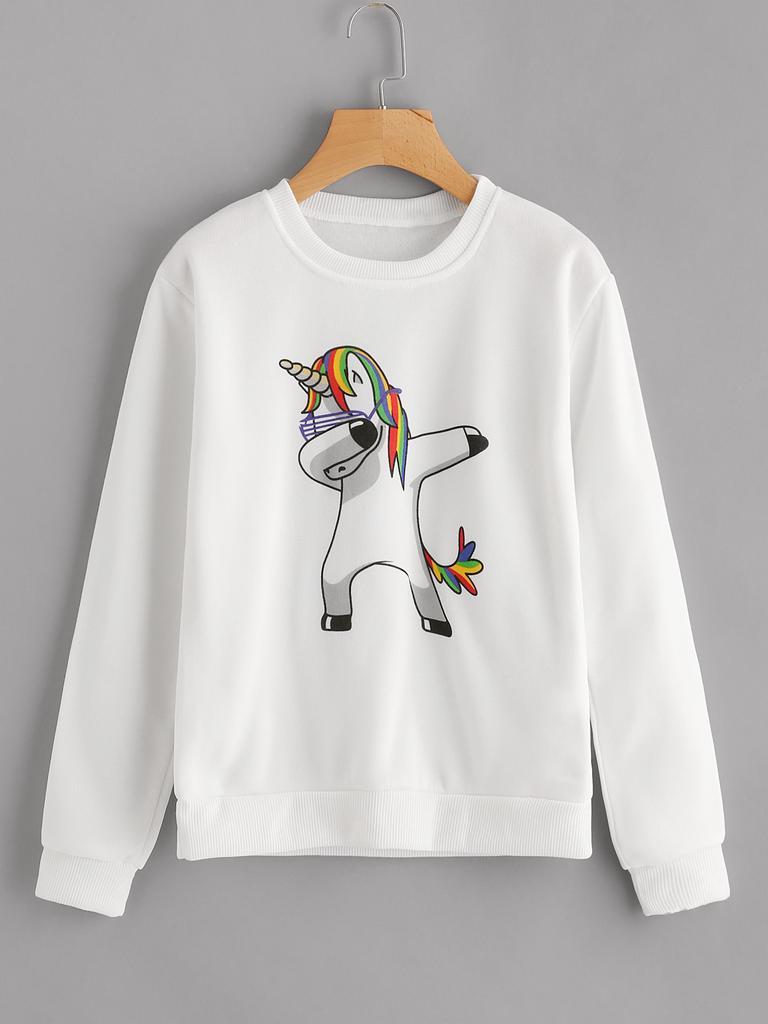 bab2e075b3b8a1 Jerseys ella en sudaderas unicornio