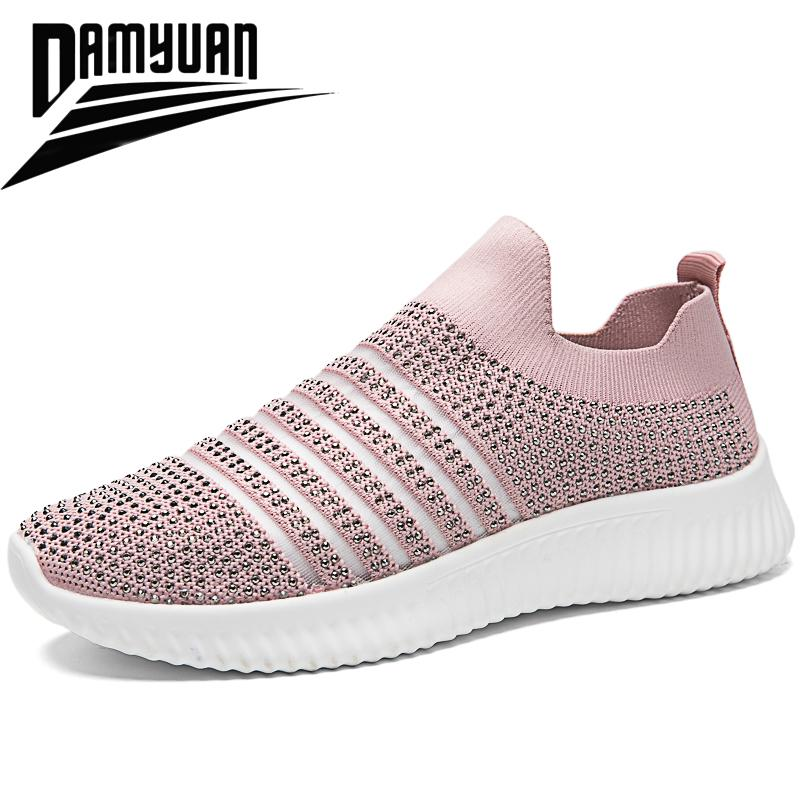 2020 New Women's Shoes Trainers Tennis Shoes Non slip Casual Shoes