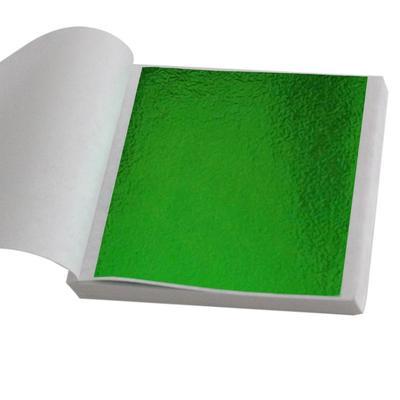 50pcs//100pcs Gold Blue Leaf Sheets For Art Crafts Design Gilding Framing Scrap