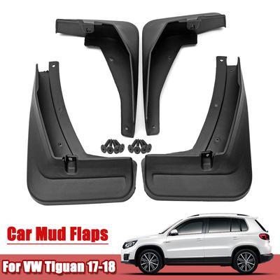 Front Rear Rubber Mudguard Flares Splash Guards Fender Mudflaps Auto Accessories BTSDLXX 4 Pcs Set Car Mud Flaps for Skoda Octavia Sedan /& Estate 2013-2017