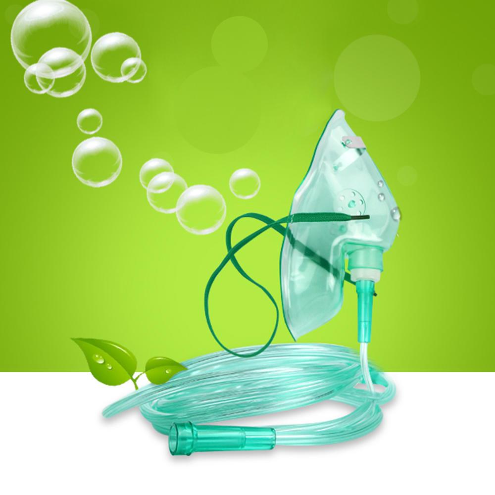 Pro Adults Medical O2 кислородная маска для лица средней концентрации с 7 трубками – купить по низким ценам в интернет-магазине Joom