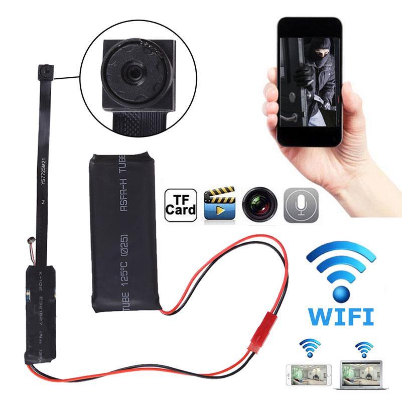 Mini DV Spion DIY Modul IP Kamera WiFi Monitor versteckte Kindermädchen Cam DVR