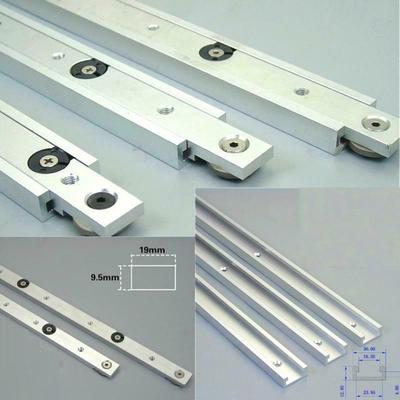 Aluminium Alloy T-track Slot Woodworking Tools Saw Miter Slider Router Table New