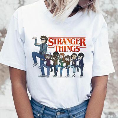 Silver Basic TV Stranger Things Dustin Hawkins Eleven Maglietta Corta e Pantaloncini