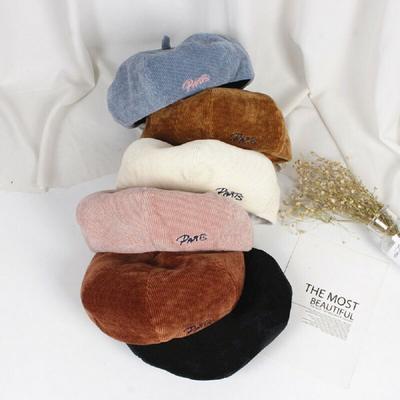 Versión coreana Pintor Retro lana sombrero Ropa Casual