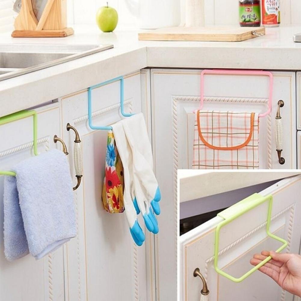 Tür-Rack Handtuchhalter Halter Schiene Veranstalter Küchenschrank ...