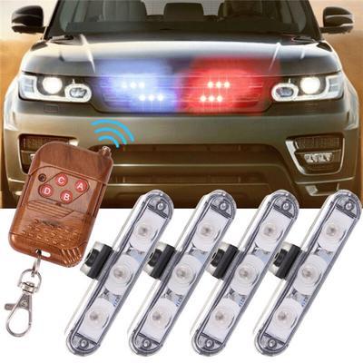 Motor Car Van Motor Home Bright Flashing Led Light Red 12V Dummy Led