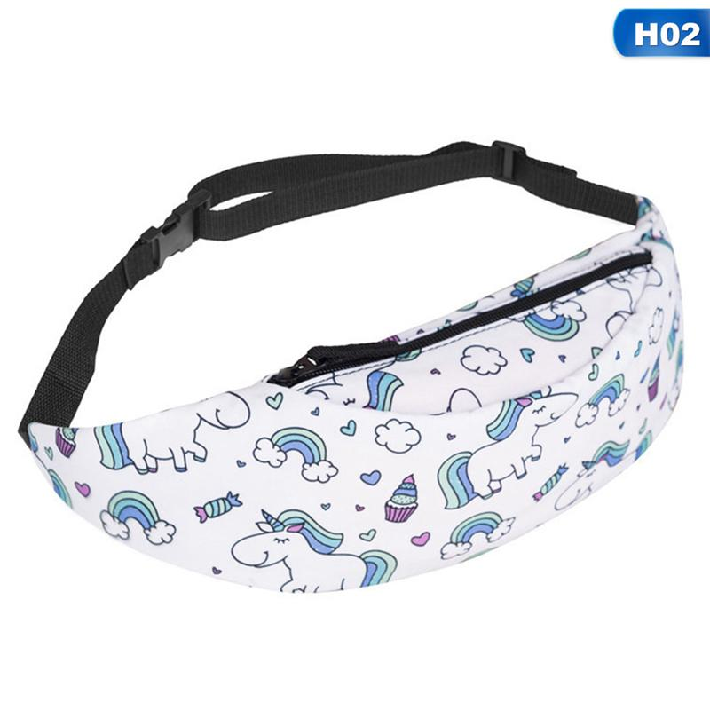 Underwater Unicorn Sport Waist Packs Fanny Pack Adjustable For Travel