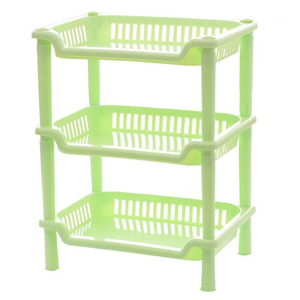 Nuevo plástico 3 capas baño cocina almacenaje Rack organizador ducha ... 1ddaa3059419