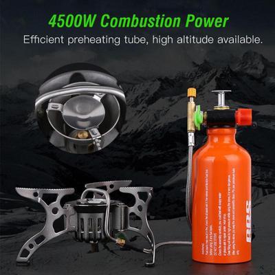 Outdoor Multi-Fuel Oil//Gas Split-Type Stove Furnace Cooker Burner Camping Picnic