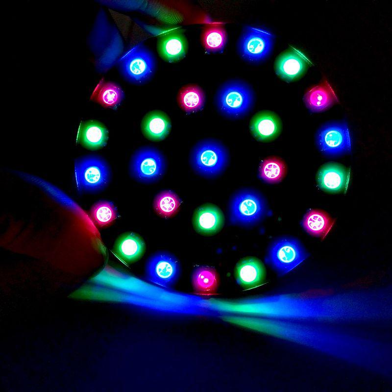 DIY Module Kit LED Crystal Energy Ring Module Kit DIY WS2812 Full Color RGB DIY Circuit Board