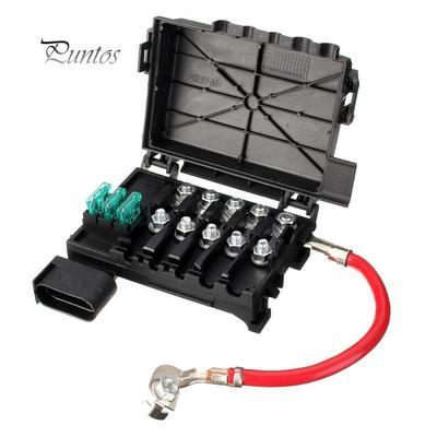 fuse box battery terminal connector for vw beetle bora golf jettafuse box battery terminal