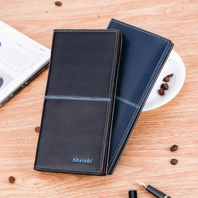 Hombre cartera cuero gran capacidad tarjeta titular dinero concisa la bolsa  monedero 102950fd830c