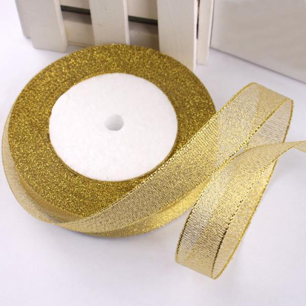 Cinta Lurex cobre metálico 15mm en un rollo 25m