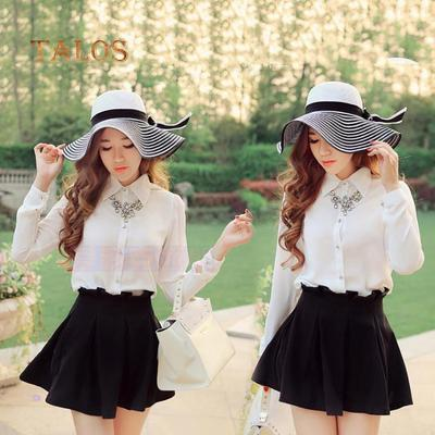 57c4367687e Fashion Striped Bowknot Summer Beach Sun Hat Women Straw Braid Large  Brimmed Cap Girls Hats