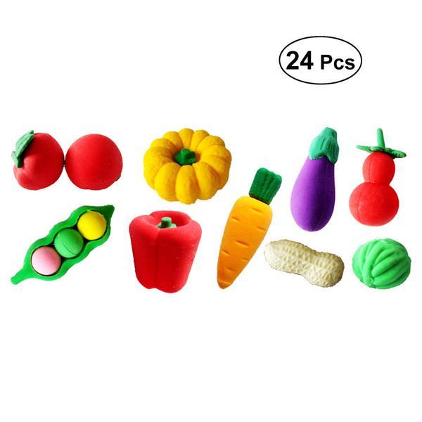 5pcs 1//12 Dollhouse Miniature Food Vegetable Kitchen Radish Play House Food LF