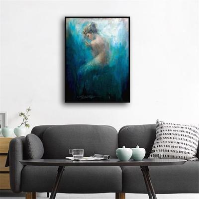 Mermaid Series Bare Home Decor Room HD Canvas Print Picture Wall Art Painting