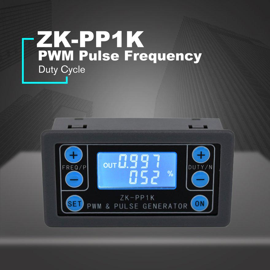 ZK-PP1K PWM pulse frequency duty cycle adjustable module square wave