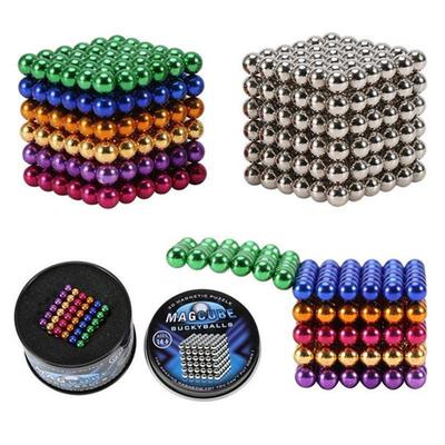 5Pcs 8//10//15mm Magnetic Ball Toy Stress Relief Intelligence-Development Toy Gift