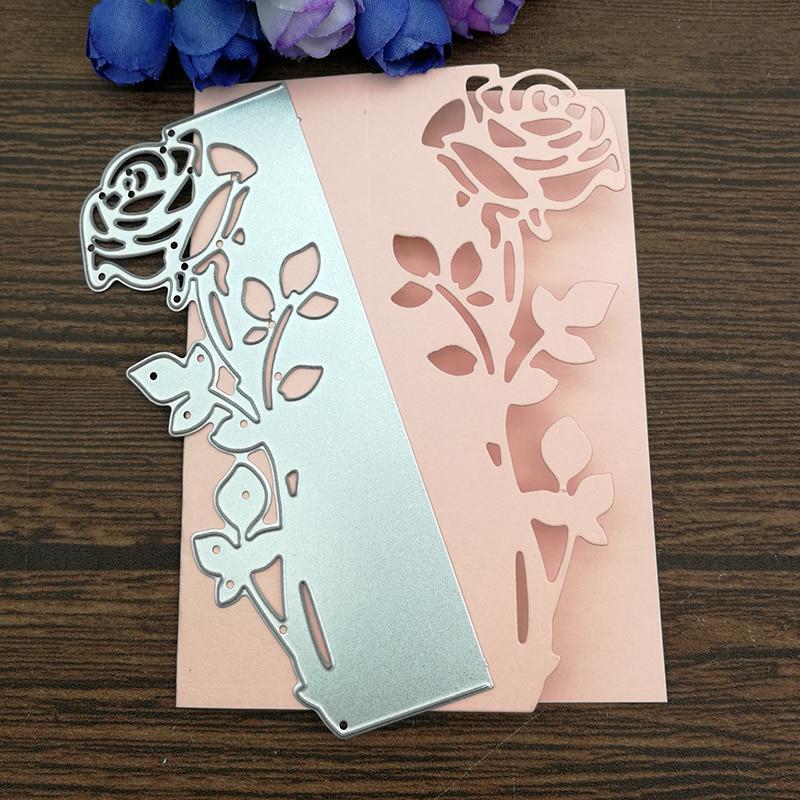 Flower Metal cutting dies scrapbooking paper craft diy cards making stencil