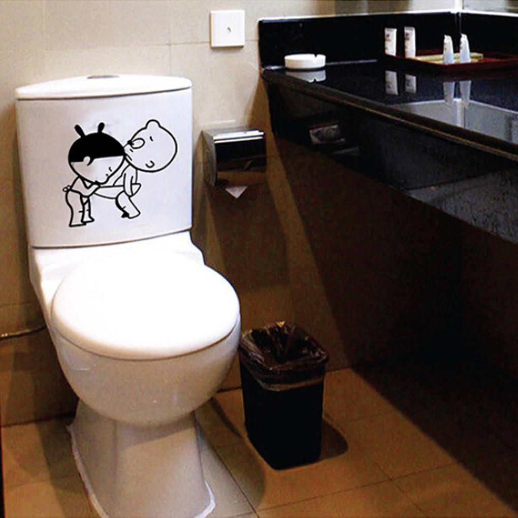 Kinder Wand Aufkleber Hauptdekoration Toilette stecken Bad – zu den ...