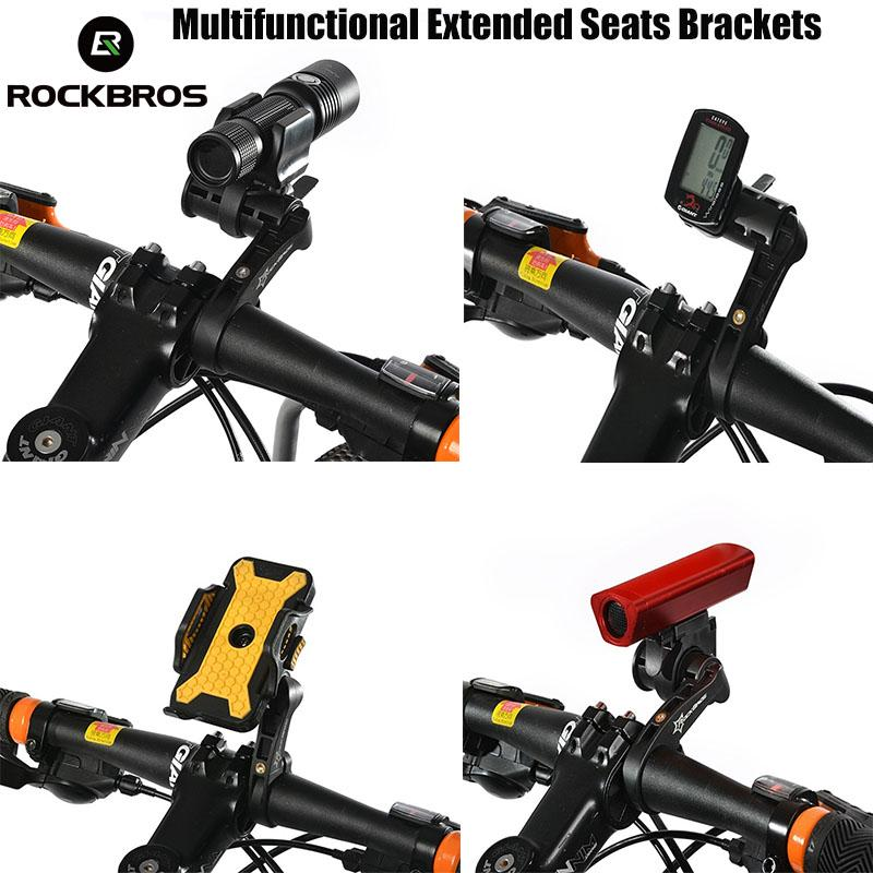 Ultralight Carbon Cycle Bicycle Bike Computer Speedometer Holder Bracket Extend