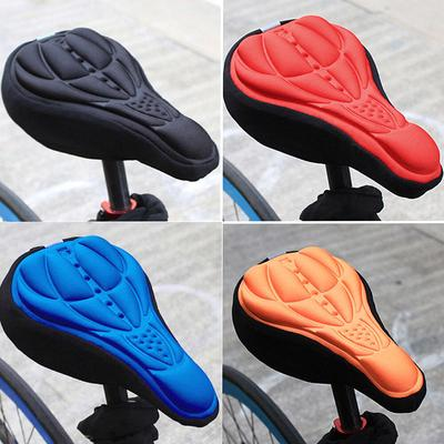 Bike seat cover comfortable comfort 3d mtb soft black high quality