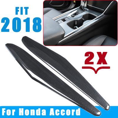 Carbon Fiber Manual Gear Peach Gear Shift Frame Cover Trim For Honda Civic 06-11