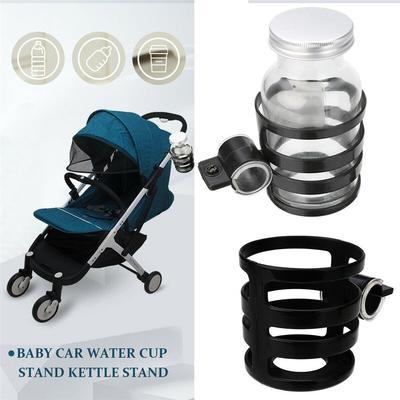 Universal Milk Drink Bottle Coffee Cup Holder for Baby Stroller Pram Bicycle