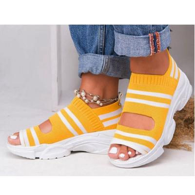 womens open toe wedge shoes