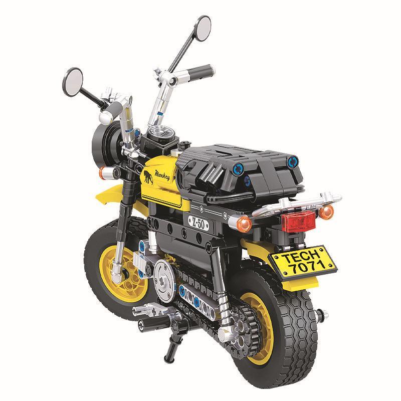 New 402pcs Technic Mini Motorcycle Motorbike Building Blocks Bricks Model Toy