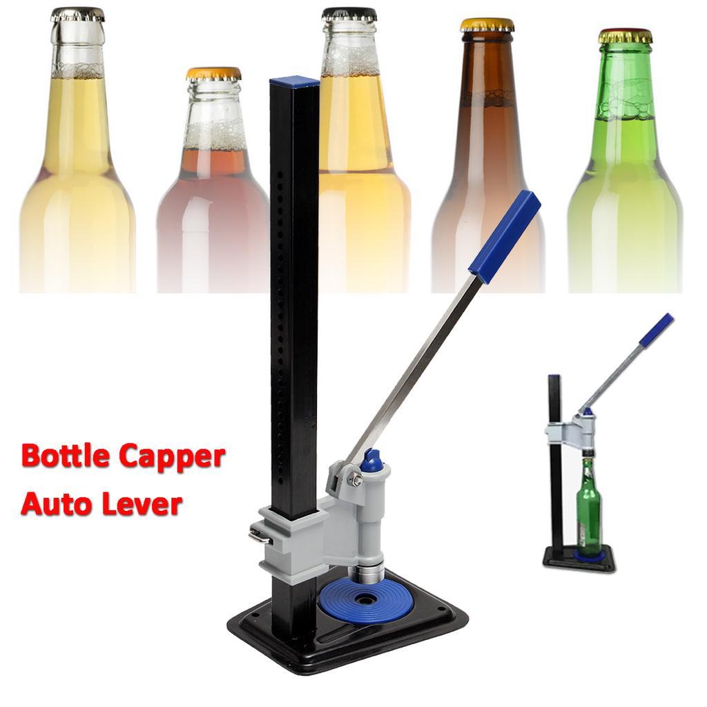 Bier Flasche Capper Auto Hebel Bank Capper für Home Brew Homebrew Keg Soda  Krone Capping Brewing Tools