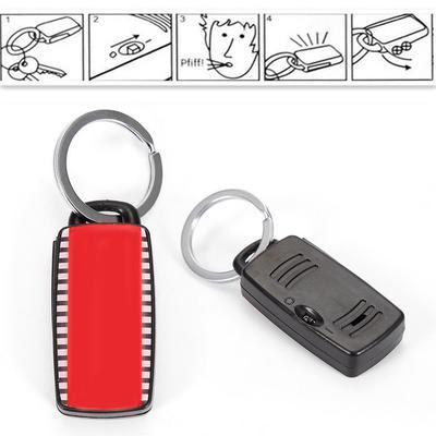 Localisateur de clés Finder clés chaîne porte-clés Whistle Sound Seeker  Keychain télécommande a perdu 310ad967e73
