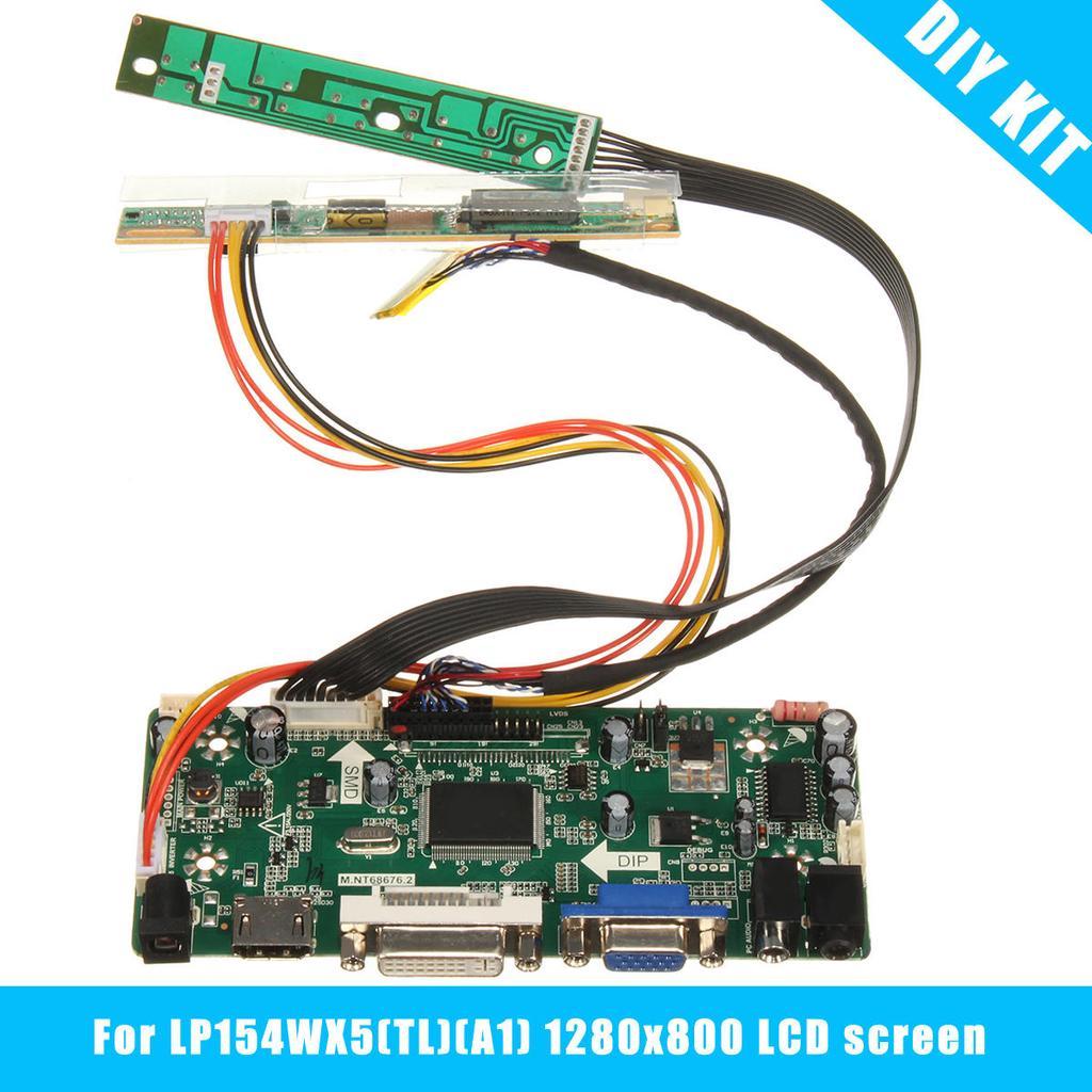 For LTN154X1-L03 LCD Screen Driver Controller Board HDMI+DVI+VGA M.NT68676.2